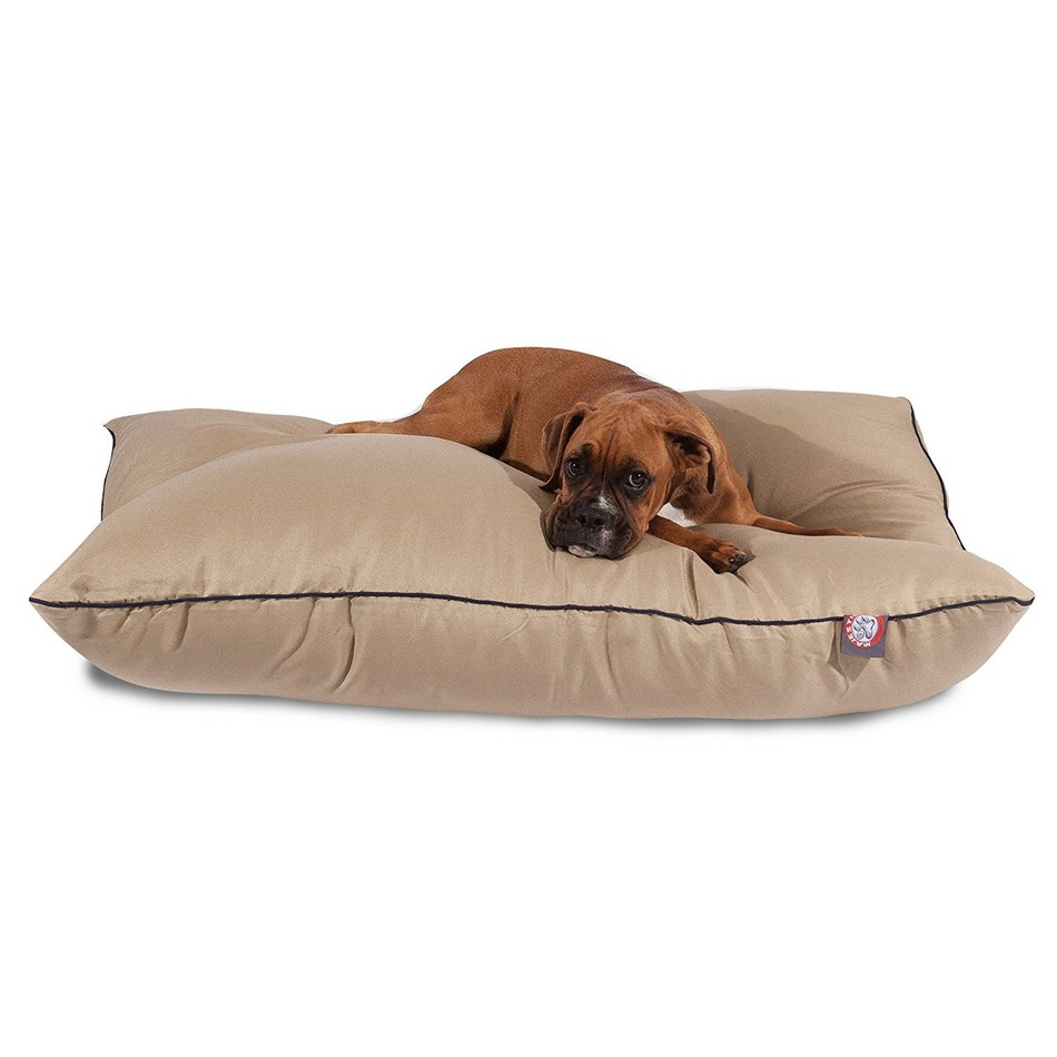 Poly/Cotton Super Value Dog Bed - Majestic Pet