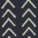 Navy Blue Boho Arrow